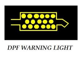 Diesel Particulate Filter (DPF) Warning Light.